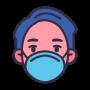 wearing_hygienic_mask_protect_coronavirus_covid_allergy_icon_141604